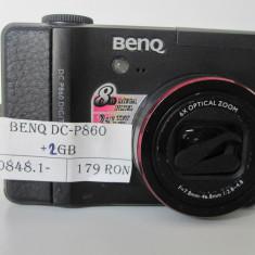 AP FOTO BENQ DC-P860 +2 GB (TECH) - Aparat Foto compact Benq