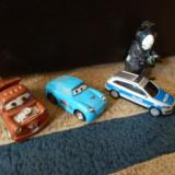 Masinuta de jucarie - Set 5 - 3 Masinute + 1 Robot - Plastic