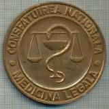 ATAM2001 MEDALIE 416 - CONSFATUIREA NATIONALA - MADICINA LEGALA -TARGOVISTE 1988 -starea care se vede - Medalii Romania