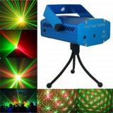 Laser disco GLOB lumini club PUNCTE ROSI + VERZI - Echipament DJ Altele