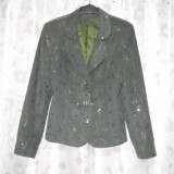 Costum dama, Costum cu pantaloni - Costum brodat