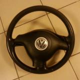 Volan sport din piele cu airbag vw passat golf bora 2002 - Dezmembrari Volkswagen