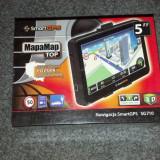 Vand GPS nou / ecran 5 inches / 128 MB RAM / procesor 500 MHZ / doua softuri de navigatie / iGO Primo / AutoMapa / navigatie camion / GPS camion, 5 inch, Toata Europa, Car Sat Nav, peste 32 canale, Harta online: 1