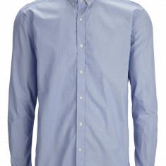 Camasa 100% bumbac, mansete carouri - SELECTED - art 16040198 blue - Camasa barbati Selected, Marime: L, Culoare: Albastru