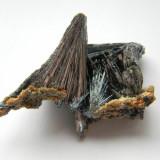 Mineral din colectie - STIBINA - Fosila roca