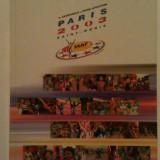 PARIS 2003 SAINT DENIS - CHAMPIONNATS DU MONDE D'ATHLETISME - LIVRE SOUVENIR - COMMEMORATIVE BOOK - LB FRANCEZA SI ENGLEZA