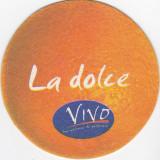 Cartonas de colectie - Suport de pahar / Biscuite VIVO