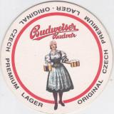 Cartonas de colectie - Suport de pahar / Biscuite BUDWEISER