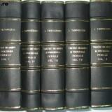 Carte Drept penal - I. Tanoviceanu Tratat de drept si procedura penala 5 vol 1924 - 1927