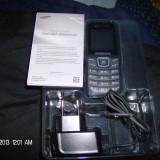 TELEFON MOBIL SIGILAT SAMSUNG GY-E1200I - Telefon Samsung, Negru, Nu se aplica, Neblocat, Single SIM, Fara procesor