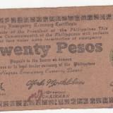 Bnk bn filipine 20 pesos 1944, insula negros, em 3