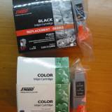 Cartus imprimanta - Cartuse color si negru 21 24 pt canon 4 bucati
