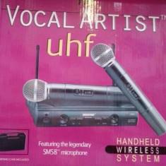Microfon profesional FARA FIR Shure SM 58 II ALUMINIUM CASE PROMO