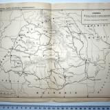 LOT 2 HARTI / HARTA - ROMANIA DUPA CUCERIREA INDEPENDENTEI // DACIA ROMANA // CONTINUITATEA VIETII ROMANE PE TERITORIUL DACIEI