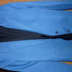 Sacou Zara Women - Sacou dama Zara, Marime: S, Culoare: Albastru, Albastru