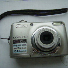 APARAT FOTO NIKON COOLPIX L 23, ARE 10 0, 1 MEGAPIXELS, 5 X ZOOM, DEFECT ! - Aparat Foto compact Nikon, 10 Mpx