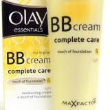 Crema de fata Olay Essentials BB Cream Complete Care with Touch of Foundation by Max Factor - Light