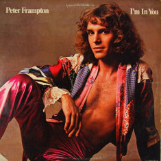 Peter Frampton I'm In You disc vinyl lp muzica rock pop pgp rtb yugoslavia 1977, VINIL