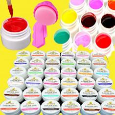 Set 36 geluri uv colorate COCO - Gel unghii