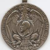 Medalii Romania - Medalie In Amintirea Inaltatorului Avant 1913 Carol I - Din Carpati Peste Dunare