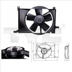 Ventilatoare auto - Ventilator, radiator OPEL VITA C 1.0 - TYC 825-0002