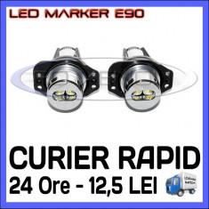 ANGEL EYES LED MARKER - E90, E91 - 6W High Power - ALB 6000K ZDM, Universal