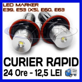ANGEL EYES LED MARKER - E39, E53 X5, E60, E63 - 5W High Power - ALB 6000K ZDM, Universal