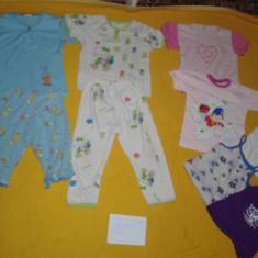 Lot 5 f - haine fete mar. 92 - 98 - pijamale in stare