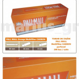 1.000 tuburi de tigari PALL MALL Multifiltru Orange pentru injectat tutun