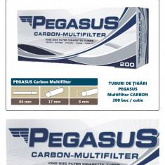 Foite tigari - 2.000 tuburi de tigari PEGASUS Multifiltru cu carbon activ pentru injectat tutun