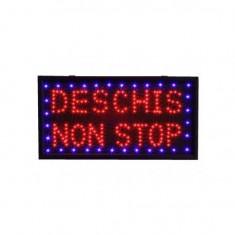 Aparat rulat tigari - Reclama luminoasa - Deschis Non Stop
