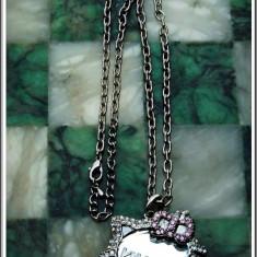 AuX: Superb LANTISOR fashion confectionat din metal cu MEDALION cu