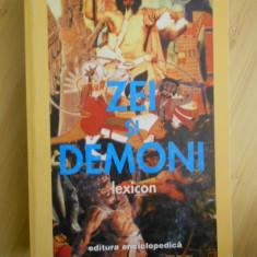 MANFRED LURKER--LEXICON DE ZEI SI DEMONI - Carte mitologie