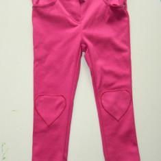 Pantaloni, colanti tip pana pentru fetite, marimea 92, pentru 2-3 ani, marca C&A, Culoare: Din imagine