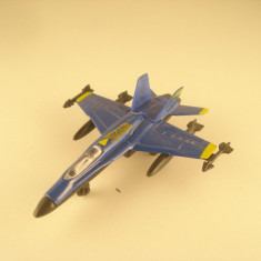 Avion de Armata BLUE ANGELS. Made in China. In stare buna. - Macheta Aeromodel Alta