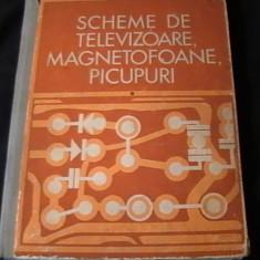 Carti Electrotehnica - SCHEME DE TELEVIZOARE- MAGNETOFOANE- PICUPURI-I. PRESURA -M. SILISTEANU-