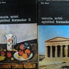 ISTORIA ARTEI, SPIRITUL FORMELOR de ELIE FAURE, 1990 VOL.I-II - Carte Istoria artei