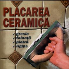 Carte hobby - Placarea ceramica Gresie, faianta, piatra, rigips. Editura MAST