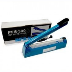 Aparat lipit-sigilat pungi 30 Cm = masina de lipit pungi plastic PFS 300MM -Nou!