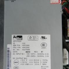 Sursa server IBM xSeries 335 x335 Power Supply 49P2089 49P2090 332W