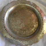 SUPERBA FARFURIE ALPACA PLACATA ARGINT ART DECO GRAVATA MINUTIOS - Metal/Fonta, Vase