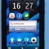 Nokia C6 decodat foto 8mp - Telefon Nokia, Negru, 1GB, Neblocat, Single SIM, Single core