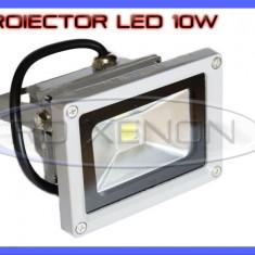 PROIECTOR LED 10W ECHIVALENT 100W - 900 LUMENI, IP65, Iluminat exterior ZDM, 220V