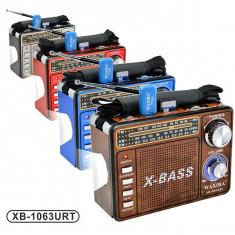 Aparat radio, Analog - Radio MP3 portabil Waxiba XB-1063URT