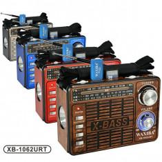 Aparat radio, Analog - Radio MP3 portabil Waxiba XB-1062URT