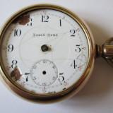 Ceas de buzunar - RARITATE! CEAS AMERICAN BUZUNAR SOUTH BEND PLACAT AUR 14 K DIN 1906