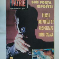 REVISTA PENTRU PATRIE { NUMARUL 11 ANUL 2001 }