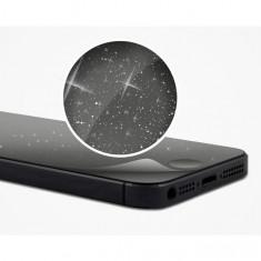 FOLIE iPhone 5 5S fata+spate clara DIAMOND - Folie de protectie Apple, Lucioasa