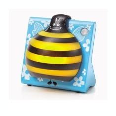 Philips LUMIGOS, Lampa de veghe pentru copii, forma de albina - Lampa veghe copii Philips Avent, Cu senzor, Galben