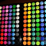 Paleta farduri Jelly Matte - 120 culori - Trusa make up